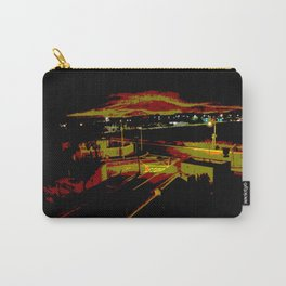 Don't stop. It's a sign. Stop street in the dark Carry-All Pouch