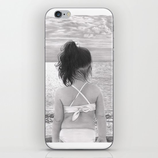 Facing Immensity iPhone & iPod Skin