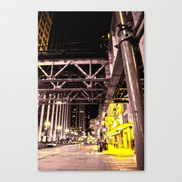 Night Work Canvas Print