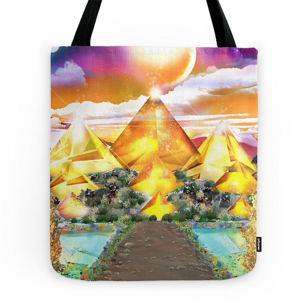 Evening Glow Tote Purse by toddimus (TBG7168135) photo