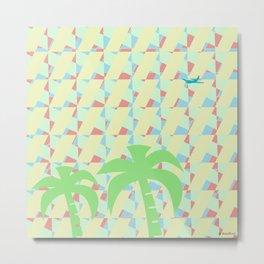 palmeras Metal Print