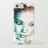 asia iPhone & iPod Cases featuring Asia by J. Ekstrom