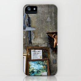 In The Corner - Lucca iPhone Case