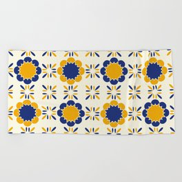 Lisboeta Tile Beach Towel