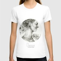 daisies T-shirts featuring Daisies by Veronica Cosimetti Art