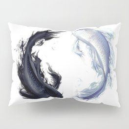 Yin Yang Carps Pillow Sham