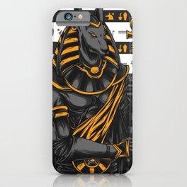 Anubis warrior iPhone Case