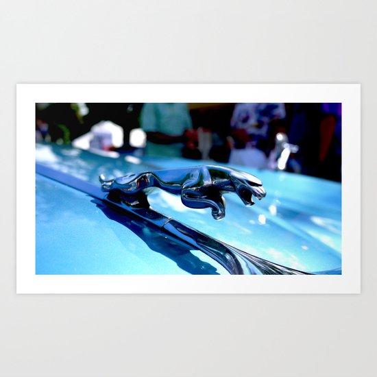 The Artful Jaguar Art Print