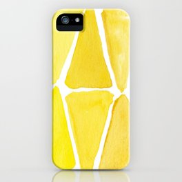 Sunny Triangles iPhone Case
