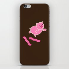 Don't Stop Piggin' Out iPhone & iPod Skin
