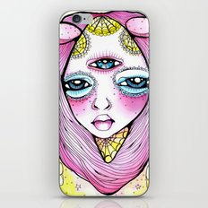 Mildred was Stuck Between Life and Death iPhone & iPod Skin