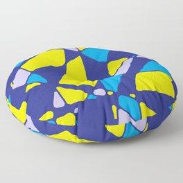 Shattered Oil Painting - Rasha Stokes Floor Pillow
