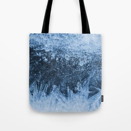 Ice Winter Pattern Tote Bag