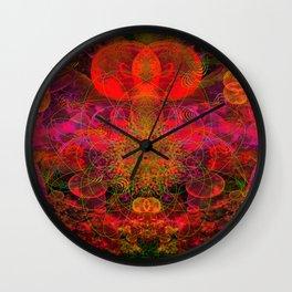 Passion Burst Wall Clock
