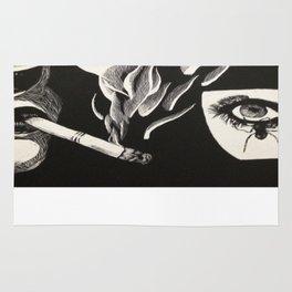 Its all just smoke and gasmasks Rug