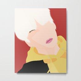Min Yoongi Metal Print