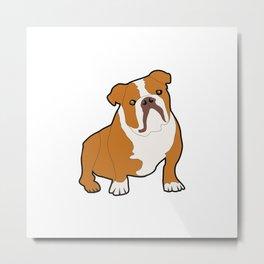 Bulldog Dog Metal Print