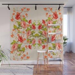 Floral Art Fleurlis Gloria Lattice Wall Mural
