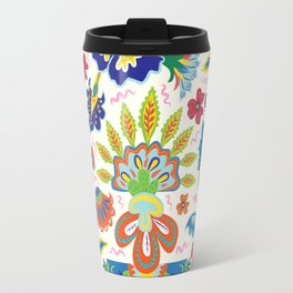 Summer Florals Travel Mug