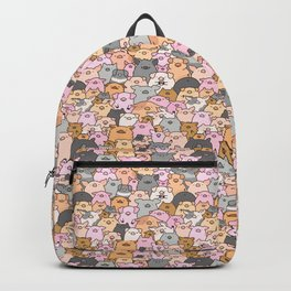 Pigs, Piglets & A Swine! Backpack