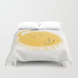 Good Morning, Sunshine Duvet Cover