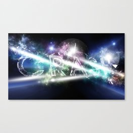 CrAsH in the Universe Canvas Print