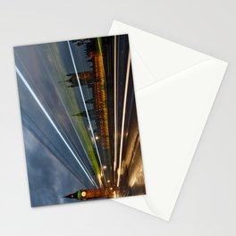 Speeding in London Stationery Cards