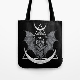 Occult Bat Tote Bag