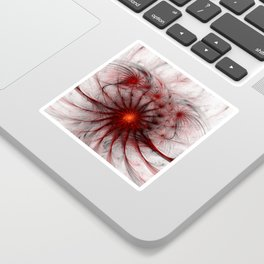 Crown of Thorns - Abstract Fractal Artwork Sticker