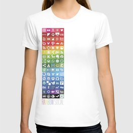 Rainbow Social T-shirt