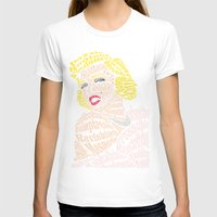 bible verse T-shirts featuring Marilyn Verse by Kaitlyn Brown