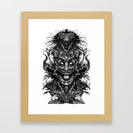 A Mad Mans Mysteries Framed Art Print