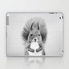 Squirrel 2 - Black & White Laptop & iPad Skin