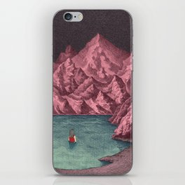 Swimming in your mind iPhone Skin