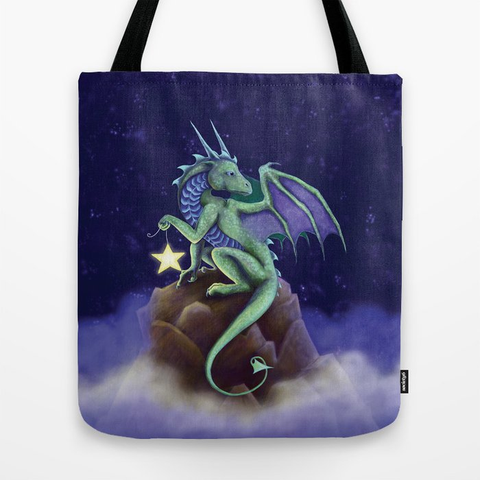 Dragon Star Tote Bag by dragonstarart | Society6