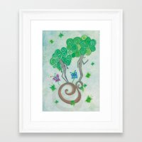 surrealism Framed Art Prints featuring Tree Surrealism by Design SNS - Sinais Velasco