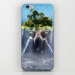 La constellation du Verseau iPhone Skin
