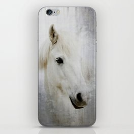 White Horse iPhone Skin