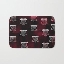 Corset pattern Bath Mat