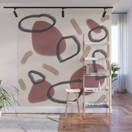 Abstract Fall II #society6 #abstractart Wall Mural