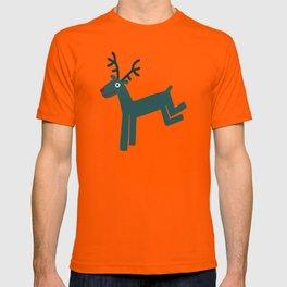 Reindeer-Teal T-shirt