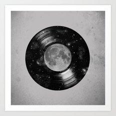 Galaxy Tunes Art Print