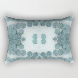 Sea Shell Disco Turquoise Rectangular Pillow