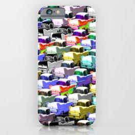 Gridlock Vintage Parking Lot iPhone Case