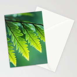 Shades of Green Stationery Cards
