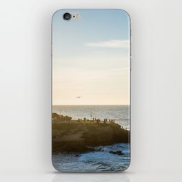 San Diego Beach Sunset Landscape in La Jolla iPhone Skin