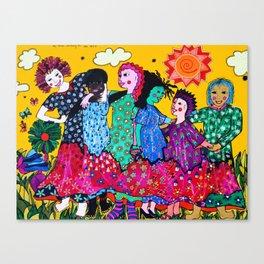 WOMANS SOLIDARITY Canvas Print