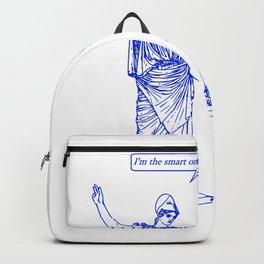 GODDESS STATUS  blue Backpack