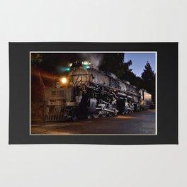 UP 4014. Union Pacific.  Steam Train Locomotive. Big Boy. © J. Montague. Rug