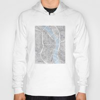 portland Hoodies featuring Portland Oregon by Anne E. McGraw